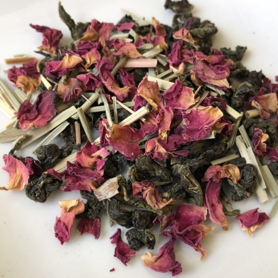 Organic Lemon Rose Oolong Tea